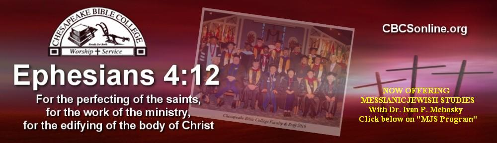 Chesapeake Bible College & Seminary Online Courses